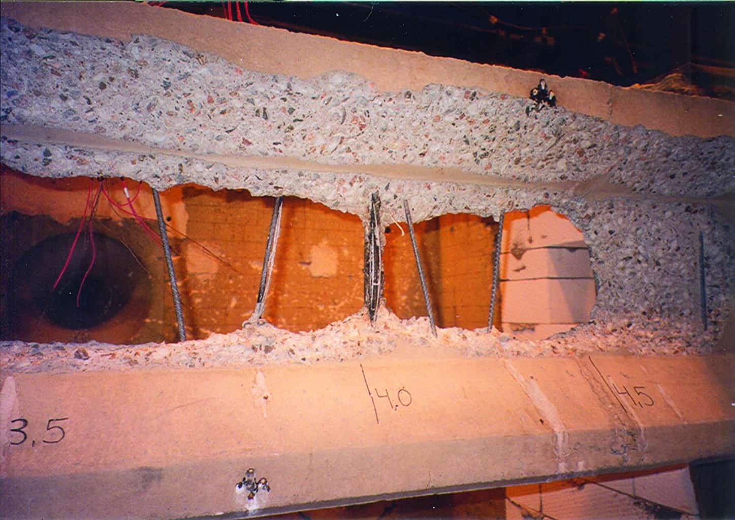 Concrete Fire Spalling Building Connection
