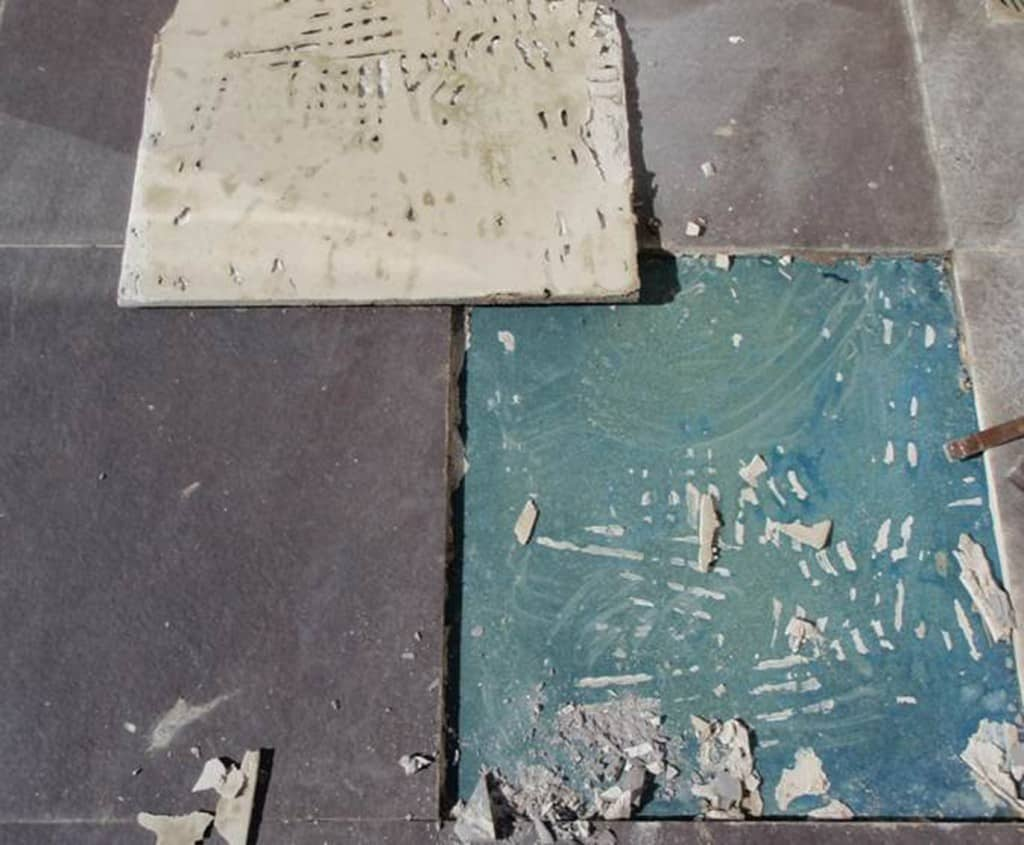 1 Functional failure tile debonded