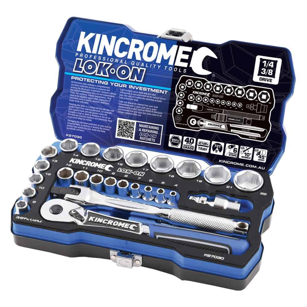 Kincrome - LOK-ON Socket Set