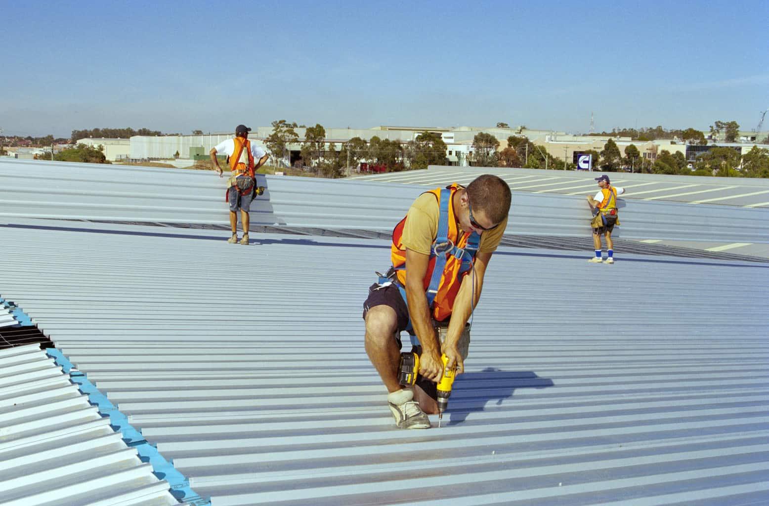 Zincalume roof