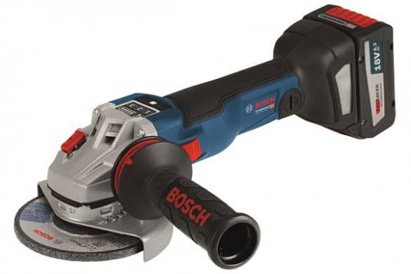 Bosch Blue introduces Bluetooth connected 18V angle grinder
