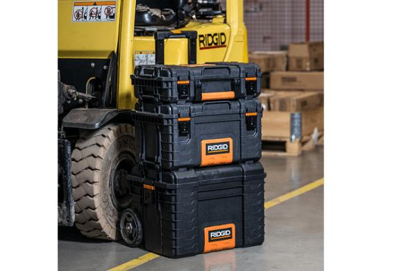 Ridgid professional tools storage system