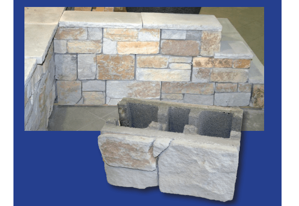 StoneFace blocks by Baines Masonry