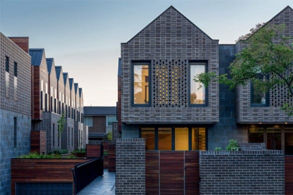 Barkers Road Townhouses - Winner Horbury Hunt Commercial 600x400