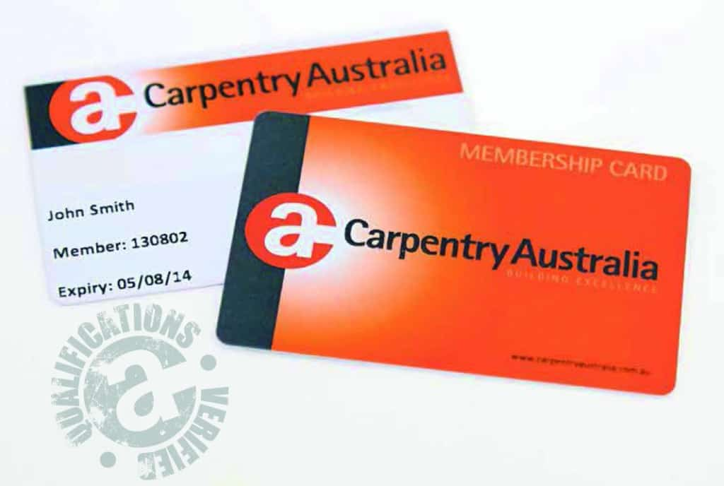 CA Membership Card
