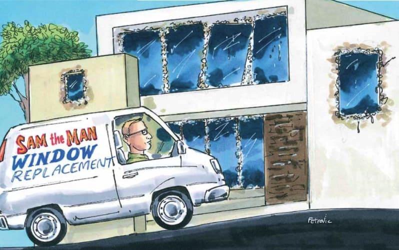 How To Prevent Aluminium Window Corrosion Attack