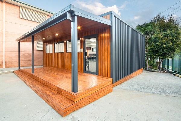 Salvaged Timber Put To Good Use In Communities Building