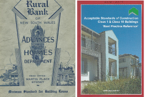 Building regulations, then and now.